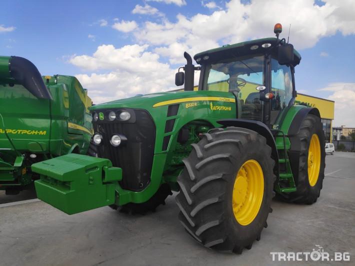 Трактори John-Deere 8320R 0 - Трактор БГ