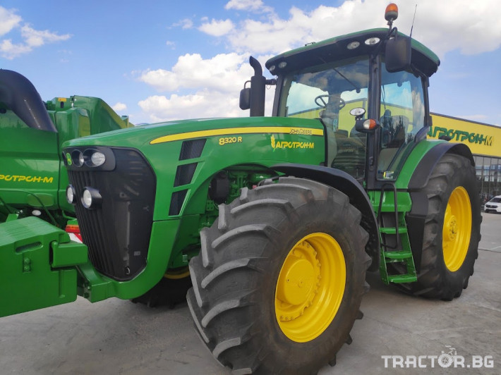 Трактори John-Deere 8320R 1 - Трактор БГ