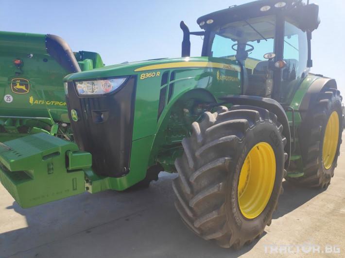 Трактори John-Deere 8360R 3 - Трактор БГ