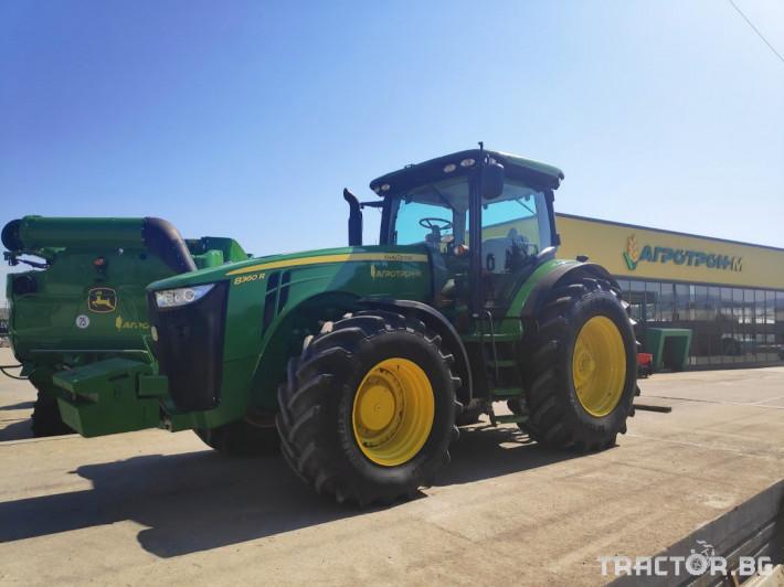 Трактори John-Deere 8360R 4 - Трактор БГ