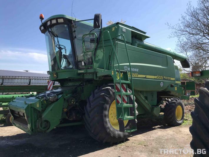 Комбайни John-Deere 9680 WTS 3 - Трактор БГ