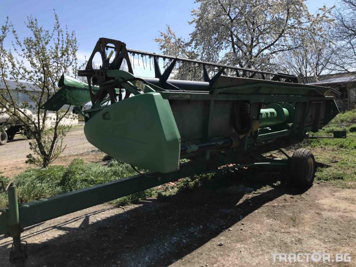 Комбайни John-Deere 9680 WTS 8 - Трактор БГ