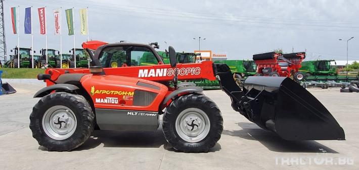 Челни товарачи Manitou MLT 731 T 0 - Трактор БГ